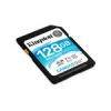 Kingston Canvas Go SDXC memóriakártya, 128GB, CL10 U3 V30