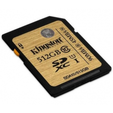 Kingston Card SD Kingston Ultimate UHS-I 512GB CL10 memóriakártya