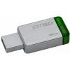 Kingston DataTraveler 50 16GB USB 3.0 pendrive - Ezüst/Zöld (DT50/16GB)