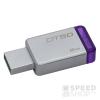 Kingston DataTraveler 50 8GB USB 3.0 pendrive, ezüst-lila (DT50/8GB)