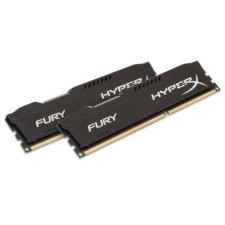 Kingston DDR3 8GB 1600MHz Kingston HyperX Fury Black 1.35V CL10 KIT2 (HX316LC10FBK2/8) memória (ram)