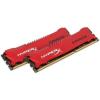 Kingston DDR3 8GB 1866MHz Kingston HyperX Savage CL9 KIT2 Piros (HX318C9SRK2/8)