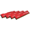 Kingston HyperX Fury DDR4 2666MHz 32GB KIT4 Piros HX426C16FR2K4/32