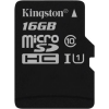 "Kingston Memóriakártya, Micro SDHC, 16GB, Class 10, UHS-I, 80/10MB/s, adapter nélkül, KINGSTON ""Canvas Select"""