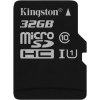 "Kingston Memóriakártya, Micro SDHC, 32GB, Class 10, UHS-I, 80/10MB/s, adapter nélkül, KINGSTON ""Canvas Select"""