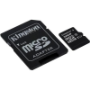 "Kingston Memóriakártya, Micro SDHC, 32GB, Class 10, UHS-I, 80/10MB/s, adapterrel, KINGSTON ""Canvas Select"""