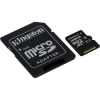 "Kingston Memóriakártya, Micro SDXC, 128GB, Class 10, UHS-I, 80/10MB/s, adapterrel, KINGSTON ""Canvas Select"""