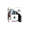 "Kingston Memóriakártya, microSDHC, 32GB, CL10/UHS-I/U1/V10/A1, KINGSTON ""Canvas Select Plus"""