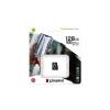 Kingston Memóriakártya, microSDXC, 128GB, CL10/U1/A1, KINGSTON  Canvas Select Plus
