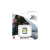 Kingston Memóriakártya, SDHC, 32GB, CL10/U1, KINGSTON  Canvas Select Plus