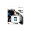 Kingston Memóriakártya, SDXC, 256GB, C10/UHS-I/U3/V30/A2, KINGSTON  Canvas Go! Plus
