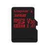 Kingston MICRO SD Kingston 32GB Canvas React UHS-I U3 V30 A1 (SDCR/32GBSP)