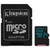 Kingston MICRO SD Kingston 64GB Canvas Go! UHS-I U3 CL10 + Adapter (SDCG2/64GB)