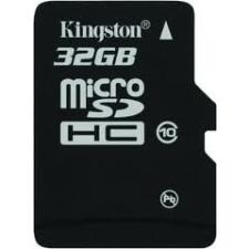 Kingston microSDHC 32GB Class 10 memóriakártya