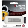 """Kingston Pednrive, 16GB, USB 3.0, jelszavas védelemmel, KINGTSON """"DTLPG3"""", ezüst"""