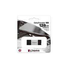 """Kingston Pendrive, 128GB, USB-C, KINGSTON """"DataTraveler 80"""" pendrive"""
