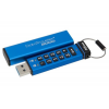 Kingston Pendrive, 16GB, USB 3.0, Keypad, KINGSTON DT2000, kék (DT2000/16GB)