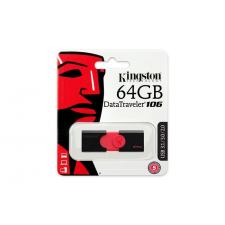 "Kingston Pendrive, 64GB, USB 3.0,  ""DT106"" pendrive"
