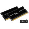 Kingston SO DDR3 16GB PC 1866 CL11 Kingston KIT (2x8GB) HyperX Impact retail (HX318LS11IBK2/16)
