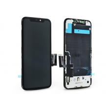 Kingwo LCD kijelző érintőpanellel - Apple iPhone 11 - Kingwo Incell kiváló minőségű, utángyártott - fekete mobiltelefon kellék
