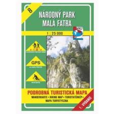Kis-Fátra nemzeti Park - VKÚ - TM 8 térkép