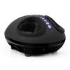 KLARFIT Feetmaster, fekete, masszázsgép lábakra, melegítő funkció, 3 masszázs program