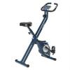 KLARFIT Klarfit Azura X-Bike szobakerékpár, max. 100 kg, pulzusmérő, összecsukható, 3 kg, kék
