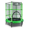 KLARFIT Klarfit Rocketkid, zöld, 140 cm, trambulin