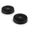 Klarstein aktív szén filter páraelszívóhoz, 2 pót szűrő, Ø 17,5 cm