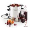 Klarstein Applebee elektromos gőzfacsaró, gyümölcscentrifuga, 1500 W, Ø 25cm, 8 liter, nemesacél