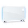 Klarstein Bornholm Curved Ambient, konvekciós hősugárzó, 1000/2000 W, fehér