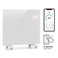 Klarstein Bornholm Single Smart, konvekciós hősugárzó, 1000 W, vezérlés applikáción keresztül, fehér hősugárzó