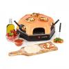 Klarstein Capricciosa, pizza sütő, 1500 W, melegentartó funkció, terrakotta