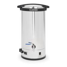 Klarstein Füllhorn, malátás sörfőző, főző kazán, 30 liter, LED kijelző, időzítő, 304-es rozsdamentes acél hűtés, fűtés szerelvény