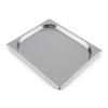 Klarstein GN edény, 1/2 gasztro edény Steakreaktor Pro grillsütőhöz, rozsdamentes acél