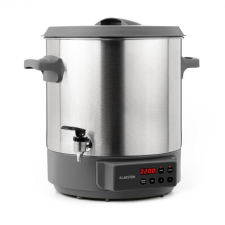 Klarstein Lady Marmalade, befőző automata, italtároló, 27l, 100 °C, 12ó, nemesacél elektromos főzőedény