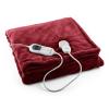 Klarstein Miss Marple melegítő takaró, 120W, mosható, 180x130cm, mikroplüss, bordó