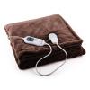 Klarstein Sherlock XXL melegítő takaró, 120W, mosható, 200x180cm, mikroplüss, barna
