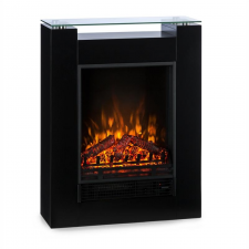 Klarstein Studio 5 elektromos kandalló, fűtőventilátor, 900/1800 W, távirányító, fekete kályha, kandalló