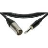 Klotz XLR-JACK kábel, 7,5 m – Klotz XLR3M - JACK2 csatlakozók + MY 206 fekete kábel
