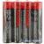 Kodak Extra Heavy Duty AA féltartós ceruza elem (R6) fólia/4