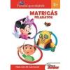 Kolibri Gyerekkönyvkiadó Kft. Disney Suli Junior - Matricás feladatok 3+ Tanulni gyerekjáték - Több mint 80 matricával!
