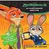 Kolibri Kiadó Szivacsos kirakókönyv - Zootropolis