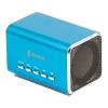 König CSPSP100BU Hordozható MP3-as hangszóró, kék