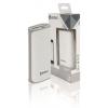 König Hordozható Külső Akkumlátor 5000 mAh USB Fehér KNPB5000WH
