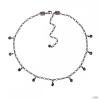 Konplott Lánc Collier Tutui CollectionSzürkeFekete diamant ezüst
