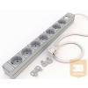 Kontaset DI-STRIP Compact hálózati elosztó 7db aljzattal, kapcsolóval