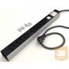 Kontaset DI-STRIP IEC320 hálózati elosztó 10db aljzattal, kapcsolóval
