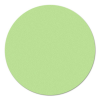 Kör moderációs kártya, 19 cm, zöld