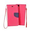 KORACELL Flexi color book tok - Huawei ShotX, Huawei Honor 7i - rózsaszín - sötétkék